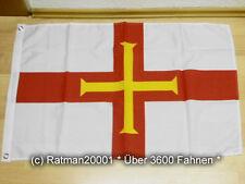 Fahnen Flagge Guernsey - 60 x 90 cm
