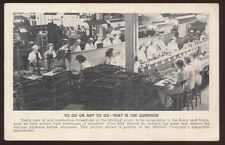 Postcard DALLAS TX  Mitchell Co WWII Army/Navy Munitions Factory #5 view 1940's