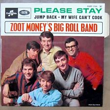 ZOOT MONEY'S BIG ROLL BAND Please Stay EP RARE FRENCH PS MINT / MINT!