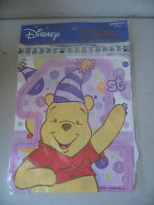 Disney Winnie the Pooh 1st Birthday Thank-You Notes 8 guests 18370
