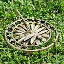 Dragonfly Garden Sundial On Flower Daisy Garden Decor ~ Spi Home 50727