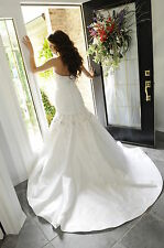 Wedding Dress/Gown - Eve of Milady - Size 6, White