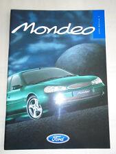 Ford Mondeo range brochure 1998 Ed 1