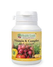 Vitamin K Complex (high Strength) 450 Mcg X 90 Capsules