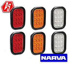 NARVA LED REVERSE LAMP, REAR STOP TAIL, REAR INDICATOR KIT WITH GROMMET MODEL 45