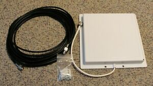 HyperLink Technologies 14 dBi Flat Patch Antenna &DataPro 1840-25C Antenna Cable