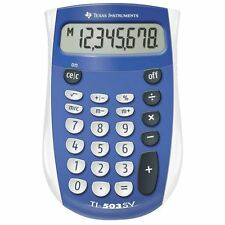 Texas Instruments TI503SV Pocket Calculator with Large Display