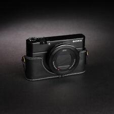 Real Leather Half Camera Case Bag for SONY RX100 V M5 M2 M3 M4 MARK V II III IV