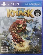 Knack 2 HK Chinese/English subtitle PS4 NEW