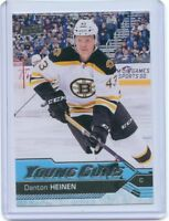 16/17 UPPER DECK YOUNG GUNS ROOKIE RC #209 DANTON HEINEN BRUINS *52225
