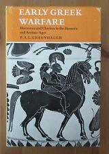 scholar book Early Greek Warfare Horseman Chariots greenhalgh