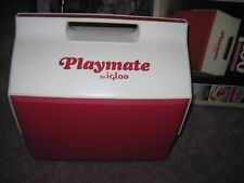 Vintage Igloo Playmate 15qt Cooler Ice Chest W/ Side Button IN Original Box