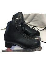 Men's Junior Size 5.5 Jackson Figure Ice Skates. Black