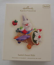 Hallmark 2008 Santa's Sweet Ride #2 Series Airplane Christmas Keepsake Ornament