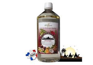 MFB Provence - Huile de massage végétale - Orientale 1 litre - Naturelle
