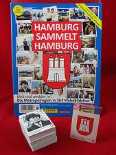 Panini Hamburg sammelt Hamburg 2. Serie Satz komplett + Album = alle 264 Sticker