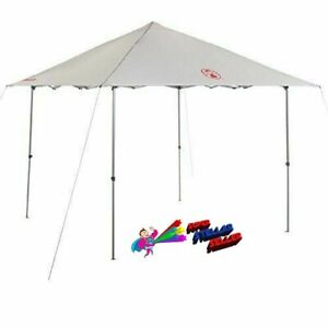 Coleman 10 x 10 Light & Fast 2000031221 Opp Red Shelter Pop Up Canopy Shade