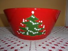 """Waechtersbach made in Germany Christmas tree vegetable serving bowl 9"""" EUC"""