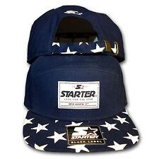 Original Starter Black Label Blue Star Snapback Cap navy 5 panel