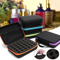 30 Bottle Essential Oil Carry Case 5ML~15ML Bag Storage Aromatherapy Hand Bag US