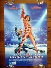 BLADES OF GLORY Original 2000s Mini Movie Poster Will Ferrell, Jon Heder