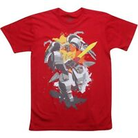 8d8cfc447a9  30.00 The Loyal Subjects x Transformers Grimlock Sword Tee - Sket One  (red) GRI