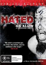 Hated GG Allin & The Murder Junkies New DVD Region ALL Sealed