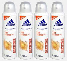 f45f68d142b4 4er-Pack Adidas Adipower 72h anti-transpirant DEODORANTE DEO SPRAY 4 x 150  ML ✿