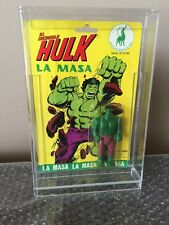 SUPER RARE HULK MEGO MADE IN SPAIN IN 1979 LA MASA -Factory Sealed WOW!