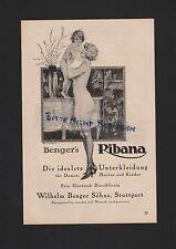 STUTTGART, Werbung 1926, Wilhelm Benger Söhne Ribana Unterkleidung