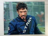 Robert Downey Jr Tony Stark Iron Man Signed Autographed 8x10 W/COA