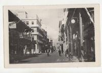 Port Said Prince Farouk Street Egypt 1955 RPPC Postcard Paquebot Postmark US019
