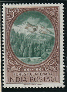INDIA 1961 FOREST CENTENARY   MNH