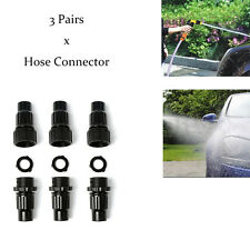 6PCS Female&Male Hose Pipe Connectors For Water Tap & Garden Repair Expandable