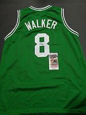Kemba Walker Boston Celtics Autographed Custom Style Jersey Coa JSA-*