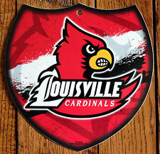 Licensed NCAA Plastic Sign University of Louisville Cardinals Interstate Sign