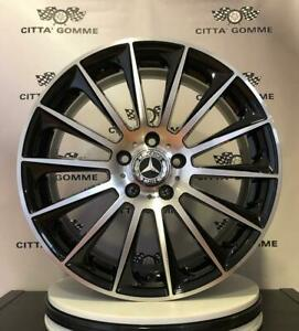 "4 Cerchi in Lega Mercedes classe A B C E CLA GLA SLK CLC GLE COUPE' da 18"" NUOVI"