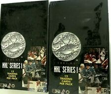 1991-92 PRO SET PLATINUM  SERIES 1 HOCKEY BOX  COMBO ( 2 BOX LOT )