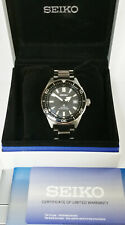 Seiko Automatic SPB-051 Luxe Prospex 1965 Diver Mens Watch Box Papers