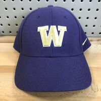Vintage Washington Huskies NCAA College Team NIKE Hook & Loop Back Hat EUC Cap