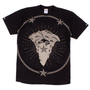 Crooks & Castles Black 'Thuxury Bandito' T-Shirt