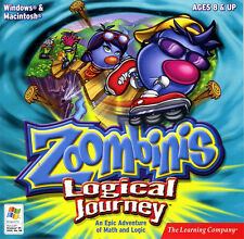 Zoombinis Logical Journey Brand New Sealed very fast shipping for PC and MAC