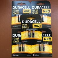 10 x Duracell MN21 A23 12V Alkaline Batteries 23A LRV08 K23A E23A V23GA 12 Volt