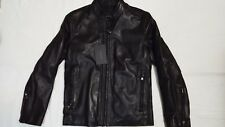 NEW Marc New York by Andrew Marc Rhinecliff Zip-Front Leather Jacket SIZE S