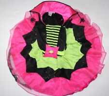 Princess Paradise Chasing Fireflies Spiderina Spider Witch Costume Dress Girls 6