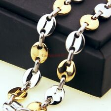 Stainless Steel Handmade Necklace Chain Mens Jewelry High Quality Silver Gold