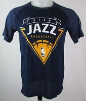 Utah Jazz NBA Men's Adidas Climalite T-Shirt