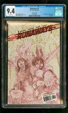 CGC 9.4 RUNAWAYS #1 MARVEL 2005 LIMITED EDITION VARIANT 1ST VICTOR MANCHA LONERS