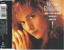 MELISSA ETHERIDGE - You can sleep while i drive CD SINGLE 3TR Germany 1990 RARE!