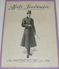 B1122/ BELLE JARDINIERE ANCIENNE PUBLICITÉ MODE1909 AUTHENTIQUE REVUE D'ÉPOQUE